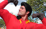 Disney World's Gaston Push-Up Contest