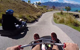 Queenstown New Zealand Luge Run