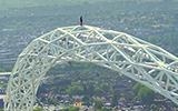 James Kingston - Climbing Wembley Arch