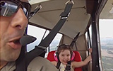 Lea's First Aerobatic Flight