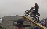 Assen TT Camping Crazy Bike Stunt Fail
