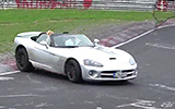 Nürburgring Nordschleife Dodge Viper SRT10 Crash