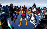 Red Bull World Record Group Skydive: 164 Person Formation