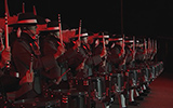 Top Secret Drum Corps @ Royal Edinburgh Military Tattoo 2015
