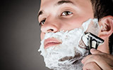 Hot Wax Beard Shave