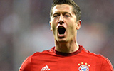 Bayern Munich vs Wolfsburg - Robert Lewandowski - 5 Goals in 9 Minutes