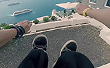 Red Bull Sick Mode: POV Parkour Santorini, Greece