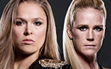 UFC193 - Ronda Rousey vs Holly Holm