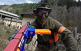 NERF vs Airsoft by Novritsch