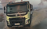 Real Life RC Volvo FMX 8 - 4 Year Old Sophie Brown