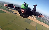 Skydivers Forget To Pull Parachute, Saved By AAD
