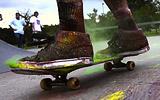 Chromatic 2 - Explosions Of Color (Slow Motion Skateboarding)