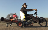Colin Furze - Pulse Jet Drift Trike
