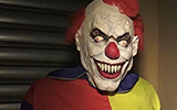 Killer Clown Get Shot Prank on TV Reporter