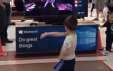 Awesome Just Dance 2016 Kid In The Mall