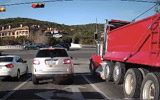 Dump Truck With Lost Brakes vs Intersection