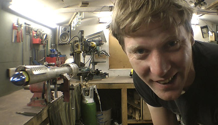 Colin Furze - Making A Firework Rocket Launcher