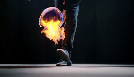 Fire Ball Freestyle Soccer