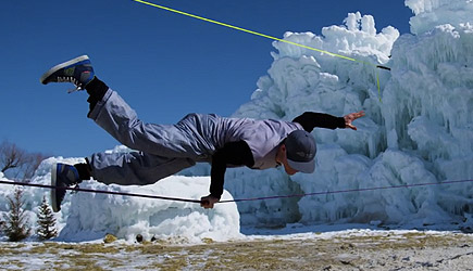 Devin Supertramp - Slacklining, Fire & Ice
