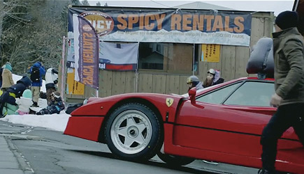 A Day In The Life - Snow Camp Feat. Ferrari F40