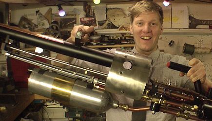 Colin Furze - Making A Thermite Launcher (3)