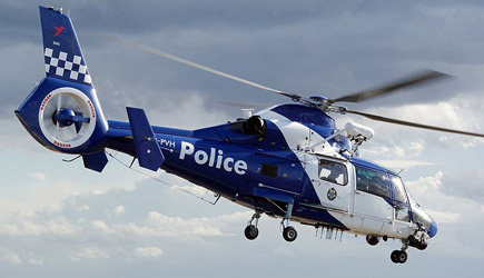 Kids Help NPAS Redhill Police Helicopter
