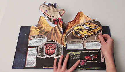 Impressive Transformers Pop-Up Book