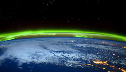 NASA - Aurora Borealis From The ISS (4K)