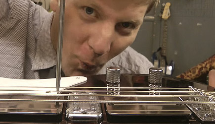 Colin Furze - Making A Smoking / Strobing Bass (Part 1)