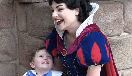 Two Year Old Autism Kid vs Snow White Disney Magic