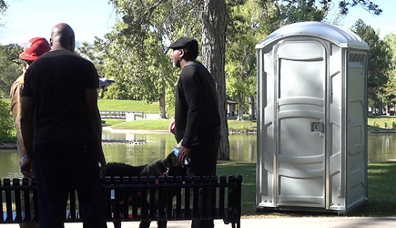 Stuart Edge - Magic Disappearing Porta Potty Prank