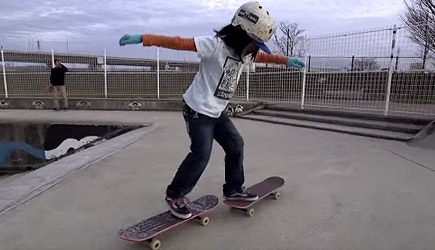 Isamu Yamamoto - The Most Amazing 12 Year Old Freestyle Skateboarder