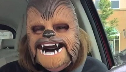 Awesome Chewbacca Mom