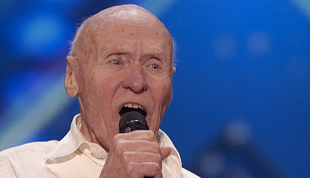 America's Got Talent - 82 Year Old John Hetlinger