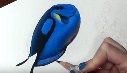 Drawing Dory In Real Life