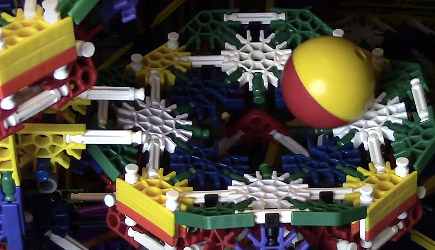 Awesome Citadel Knex Ball Machine