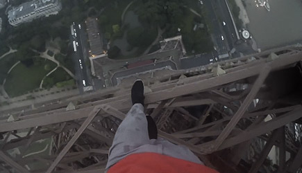 Ivan Kuznetsov - Climbing The Eiffel Tower
