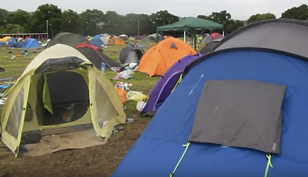 Glastonbury 2016 Aftermath Tent Walkabout