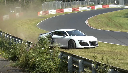 N�rburgring Audi R8 Lucky Driver