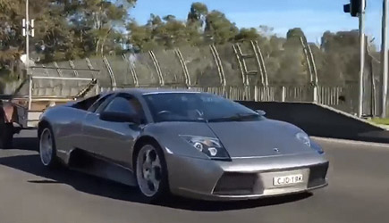 Lamborghini Murcielago Moving Goats, Trailer