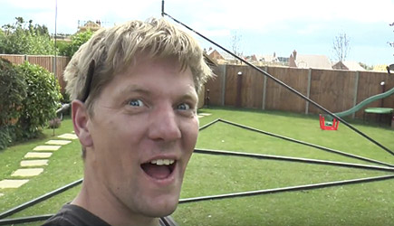 Colin Furze - Making a HUGE 360 Swing #1 Chassis
