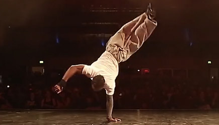 Bboy Junior vs Bboy Neguin - Freestyle Breaking Battle