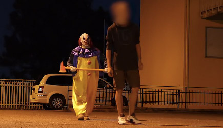 Killer Clown 7 - Resurrection! Scare Prank