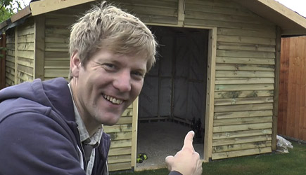 Colin Furze - How To Build A Really Solid Shed