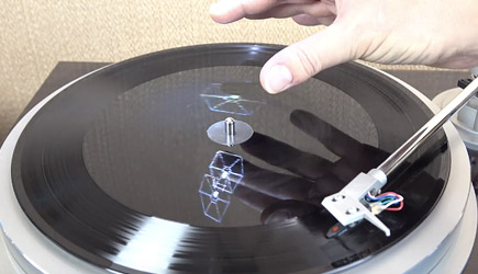 Star Wars Hologram Vinyl
