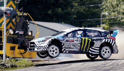 Ken Block Gymkhana 9 : Raw Industrial Playground
