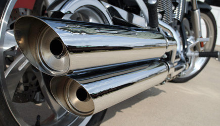Awesome Motorcycle Exhaust Paint Job