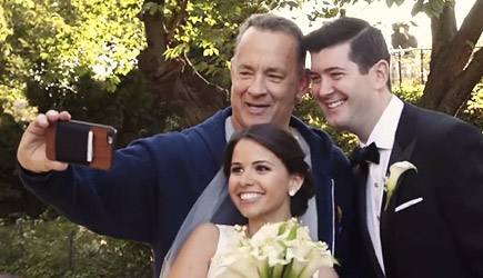 Tom Hanks Crashes Couple's Wedding