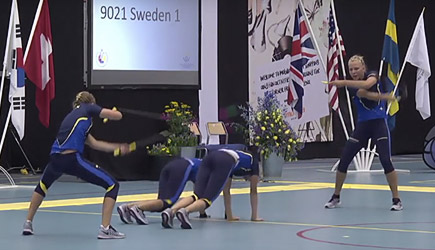 Swedish Team Takes Rope Skipping To New Levels