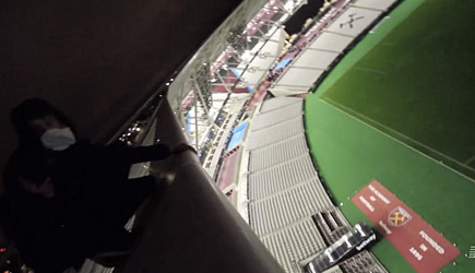 Night Scape - Sneaking Into New Westham Stadium